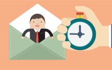 A importância de poupar tempo no envio de e-mails
